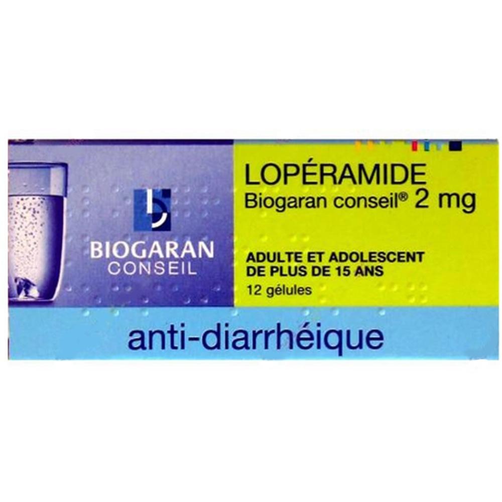 Loperamide  conseil 2mg - biogaran -192417