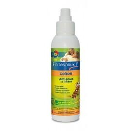 Lotion démélante anti-poux et lentes - flacon 125 ml - anti-poux - fini les poux -135477