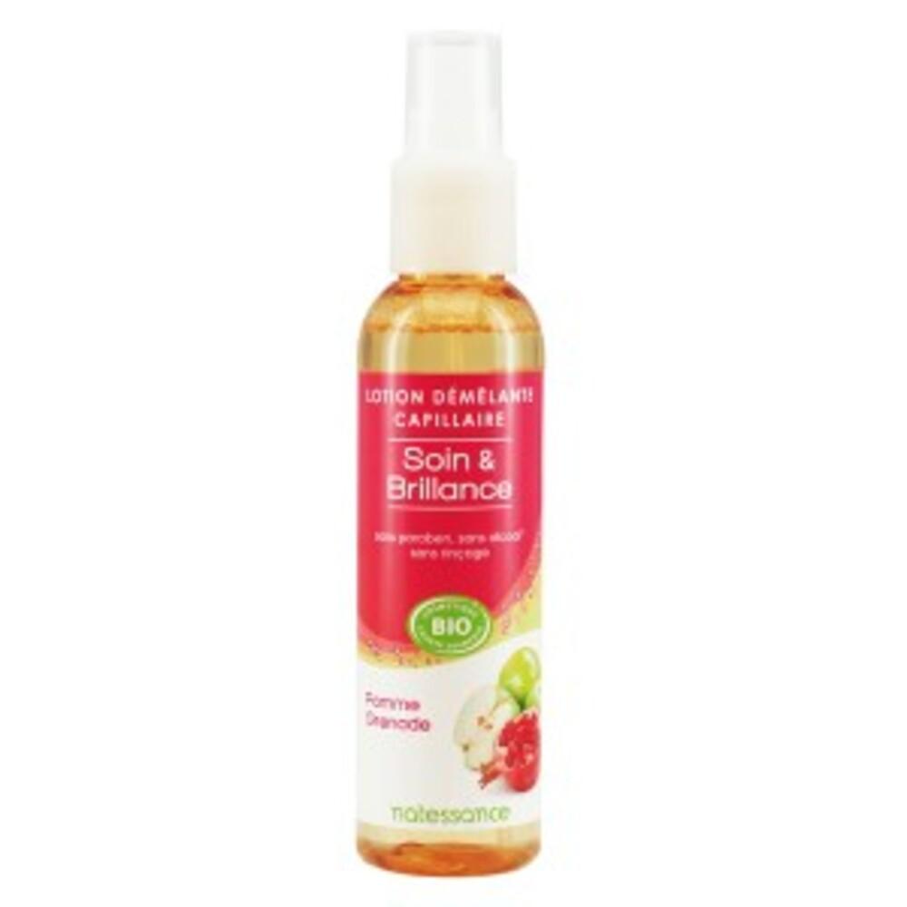 Lotion démélante capillaire - 150.0 ml - hygiène capillaire - natessance Redonne éclat et brillance-419