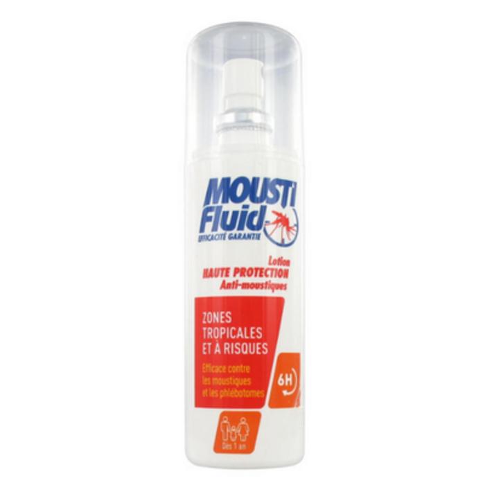 Lotion haute protection zones tropicales et à risques Moustifluid-145874