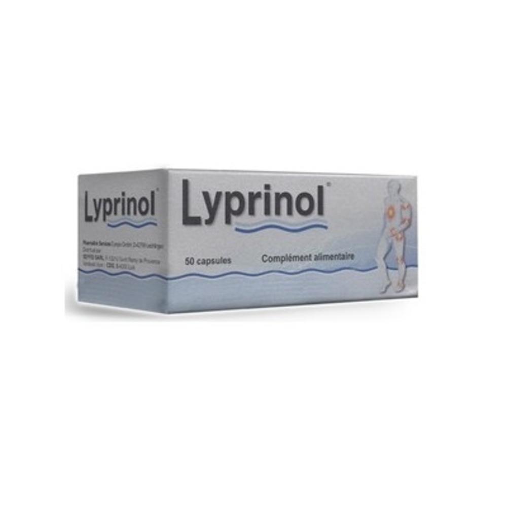 LYPRINOL - 50 capsules - Health Prevent -140399