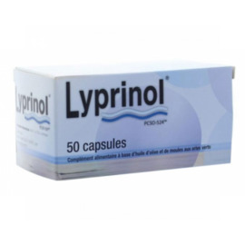 Lyprinol - 50 capsules - health prevent -140399