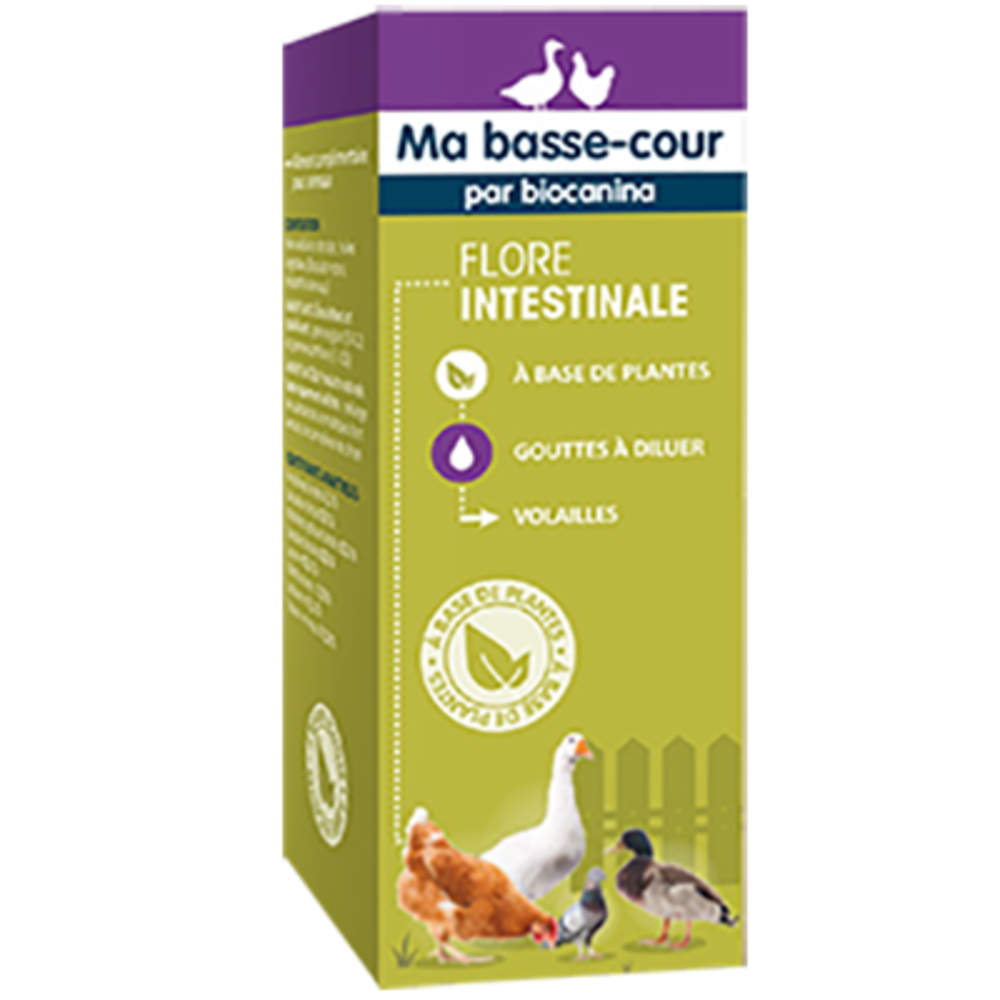 MA BASSE COUR Flore Intestinale 30ml - Ma Basse Cour -214077