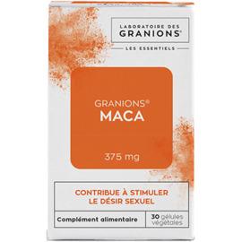 Maca 375mg 30 gélules végétales - granions -223173
