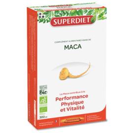 Maca bio - 20 ampoules - 20.0 unites - vitalité - intellect - super diet énergie et performances physiques-11076