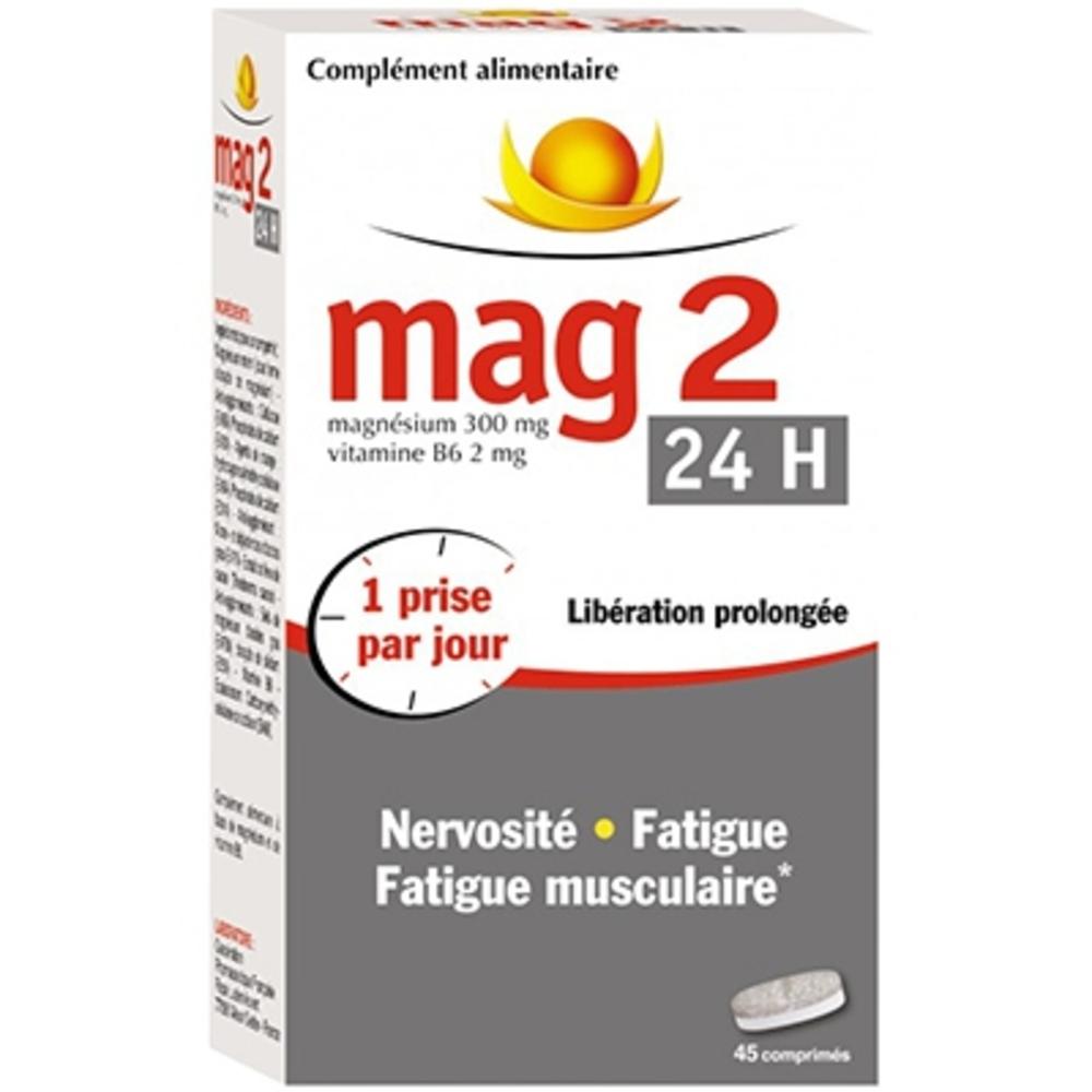 Mag 2 24h magnésium + vitamine b6 - cooper -159382