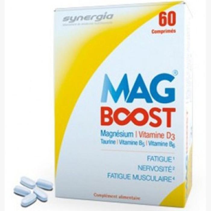 Mag boost - 60 comprimés Synergia-206618