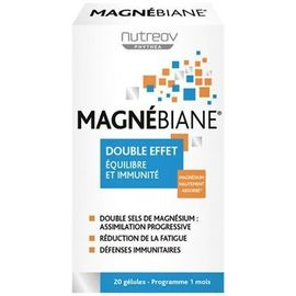 Magnébiane 20 gélules - nutreov -219388