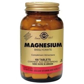Magnésium - 100.0 unites - minéraux - solgar -140964