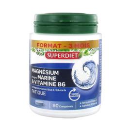 Magnésium d'origine marine vitamine b6 - 90 comprimés - super diet -205958