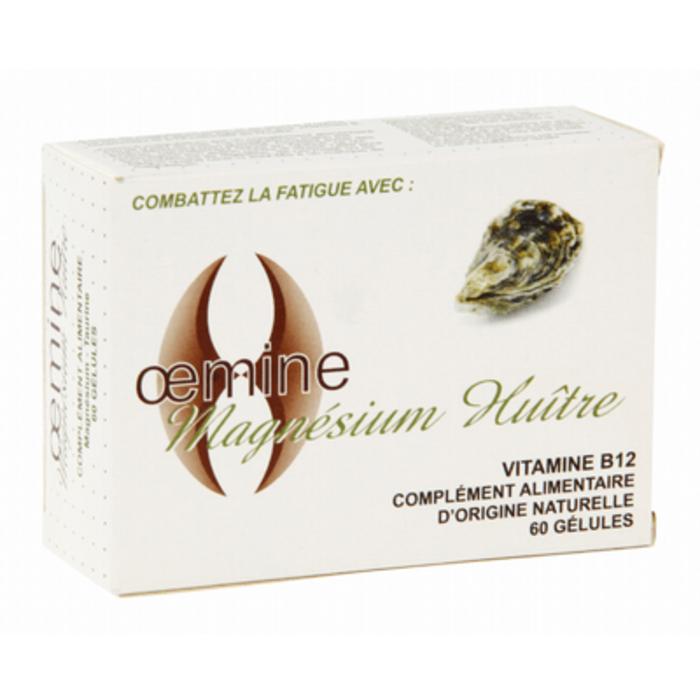 Magnésium huître - 60 gélules Oemine-140133