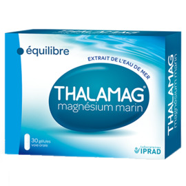 Magnésium marin - 30 gélules - 30.0 unites - thalamag -91428