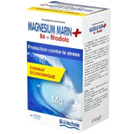 Magnésium marin b6 rhodiola 90 gélules - divers - biotechnie -188873