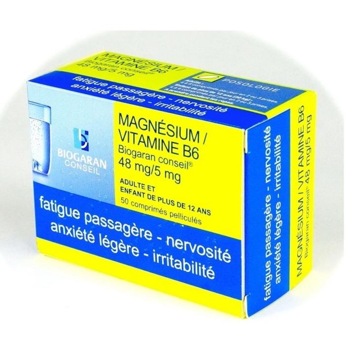 Magnesium vitamine b6  conseil Biogaran-192516