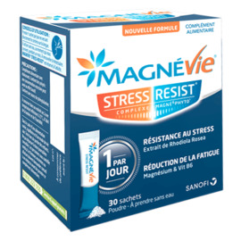 Magnevie stress resist 30 sachets - sanofi -214127
