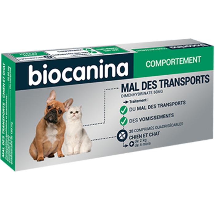 Mal des transports 20 comprimés Biocanina-220417