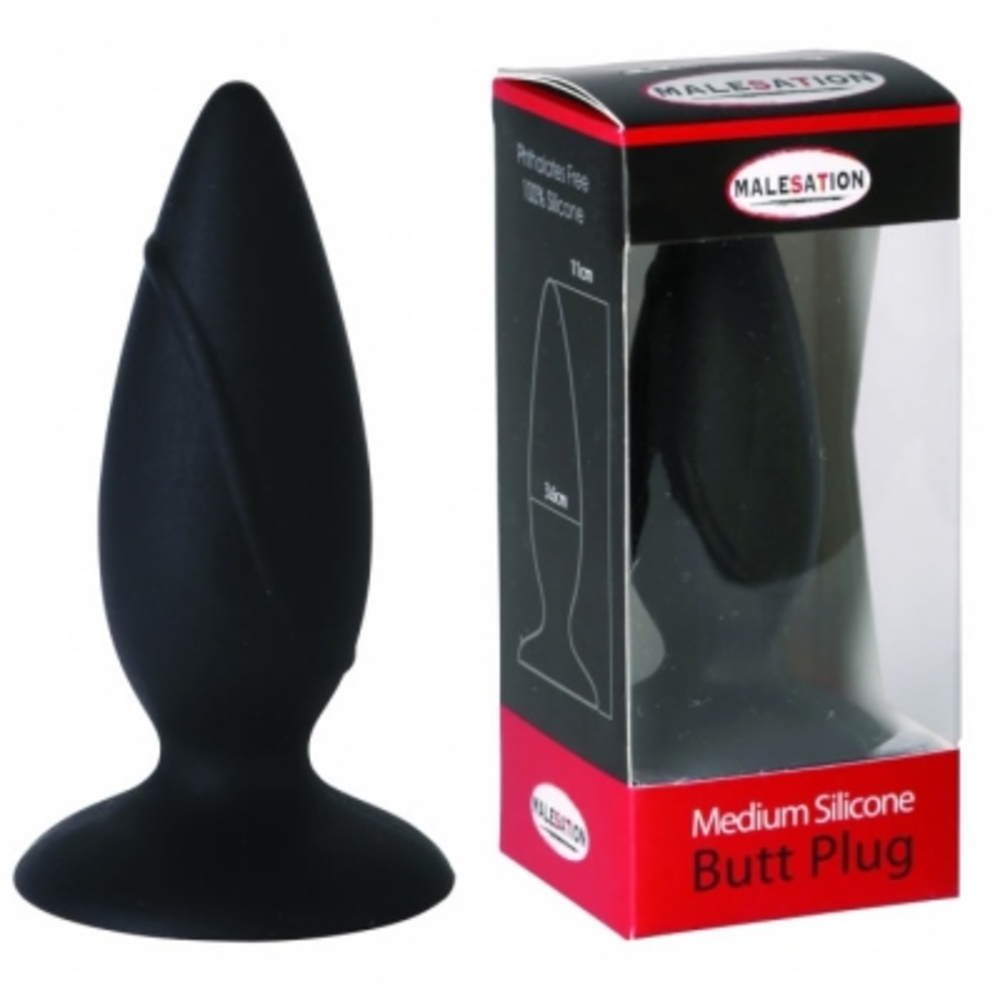 Malesation plug noir taille m - malesation -202589