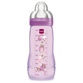 Mam biberon easy active rose +6mois 330ml - mam -145100