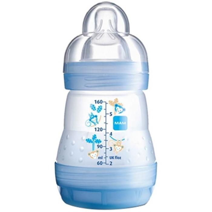 Mam biberon easy start anti-colique 160ml bleu Mam-145106