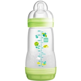 Mam biberon easy start anti-colique 260ml vert - mam -145102