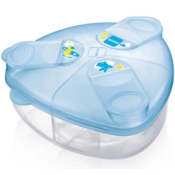 Mam boîte doseuse de lait bleue Mam-205410