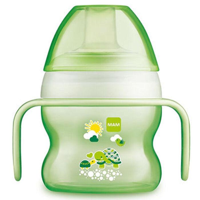 Mam tasse à bec souple 150ml 6m+ vert Mam-223772