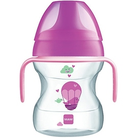 Mam tasse d'apprentissage 190ml - rose - mam -143970