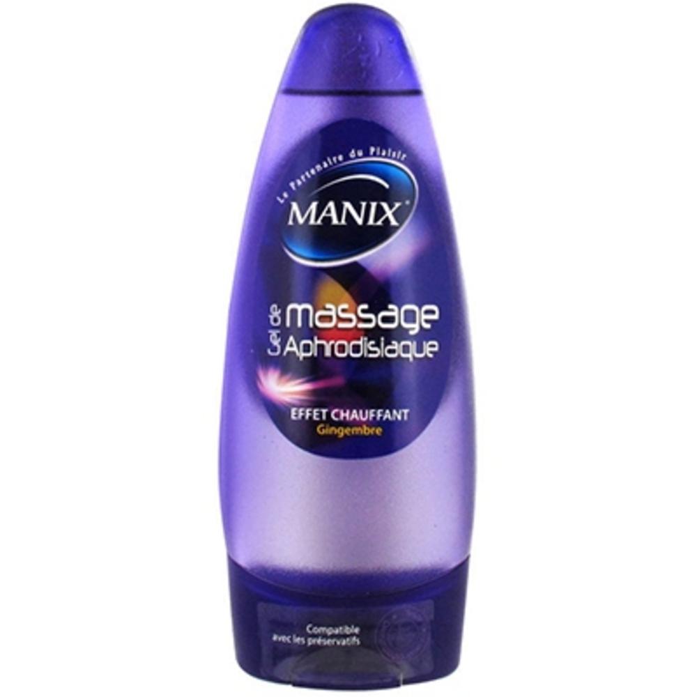 Manix gel de massage aphrodisiaque 200ml - 200.0 ml - divers - manix -15220