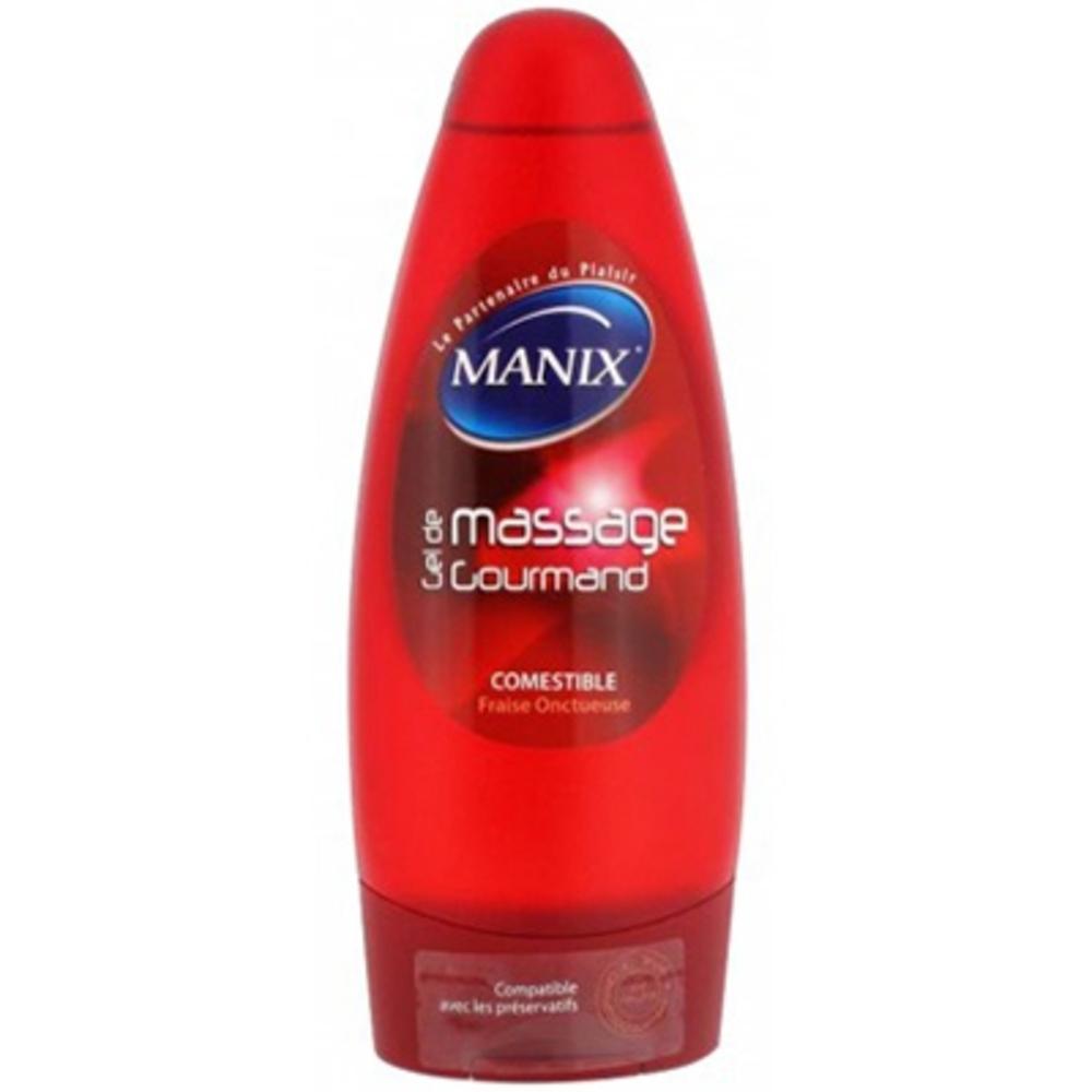 Manix gel de massage gourmand 200ml - 200.0 ml - divers - manix -15219