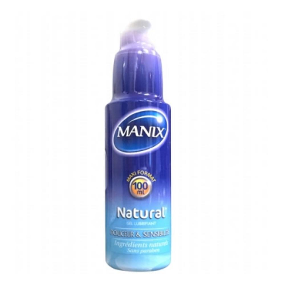 Manix gel lubrifiant natural 100ml - 100.0 ml - manix -144605