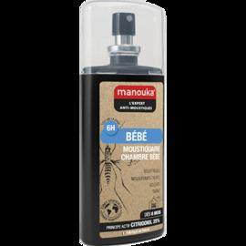 Manouka bébé spray anti-moustiques 75ml - manouka -144771