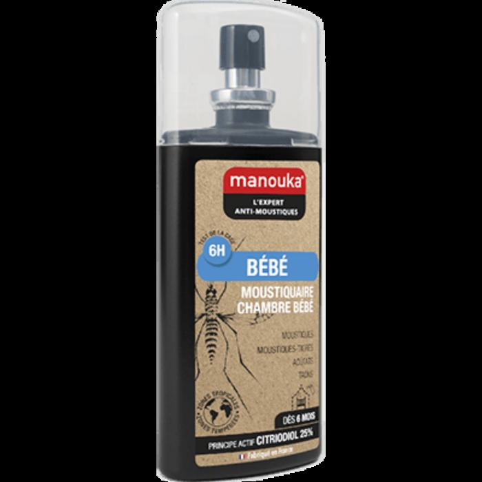 Manouka bébé spray anti-moustiques 75ml Manouka-144771