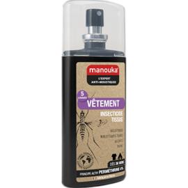 Manouka vêtement spray anti-moustiques tissus 75ml - manouka -144772