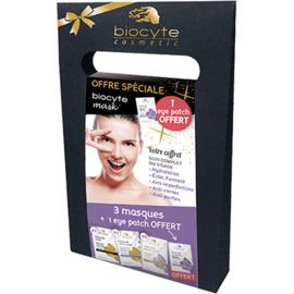 Mask coffret 3 masques + eyes patch offert - biocyte -216709