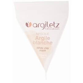 Masque argile blanche - 8 berlingots de - 15.0 ml - berlingots - argiletz -141625