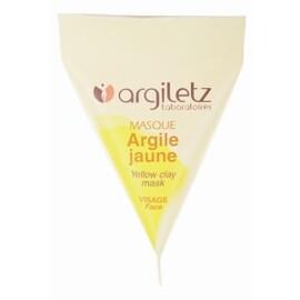 Masque argile jaune - 8 berlingots de - 15.0 ml - berlingots - argiletz -141622