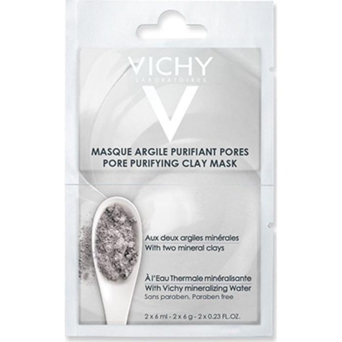 Masque argile purifiant pores - 2x6ml Vichy-205532
