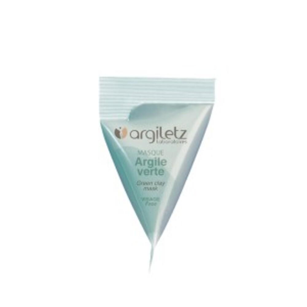 Masque argile verte - 8 berlingots de - 15.0 ml - berlingots - argiletz -141626