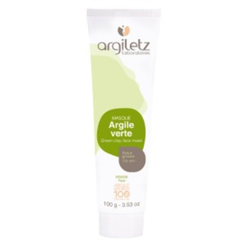 Masque argile verte prête à l'emploi - 100.0 ml - masques en tubes - argiletz Usage quotidien-9601