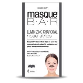 Masque bar bandes pour le nez au charbon 6 bandes - masque-bar -221620