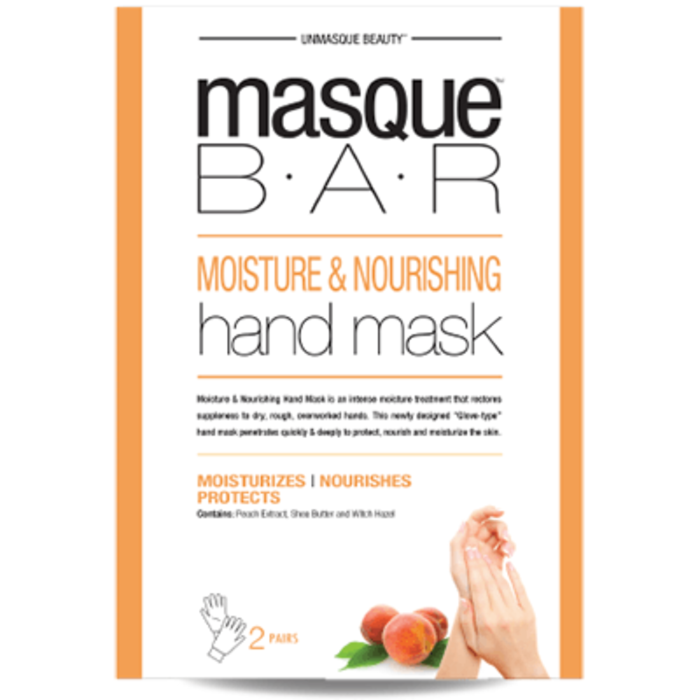 Masque bar mani masque pour les mains hydratant & nourrissant 2 paires - masque-bar -221612