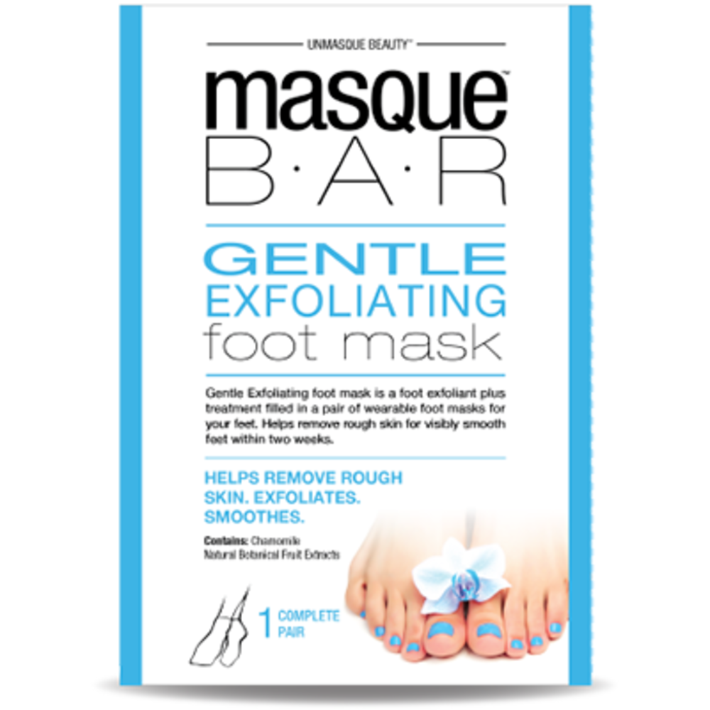 Masque bar pedi masque pour les pieds exfoliant 1 paire - masque-bar -221608