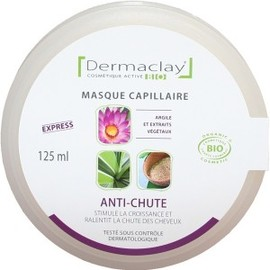 Masque capillaire anti chute - 125.0 ml - les masques capillaires - dermaclay -139865