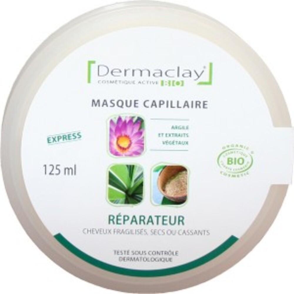 Masque capillaire réparateur - 125.0 ml - les masques capillaires - dermaclay -139863