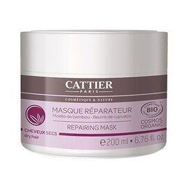 Masque capillaire réparateur bambou bio 200ml - cattier -226160