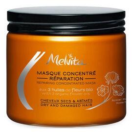 Masque concentré réparation bio 175ml - capillaires experts - melvita -213469