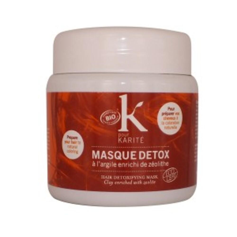 Masque détox bio - 500.0 g - coloration - k pour karité -140558