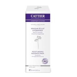 Masque éclat hydratant source précieuse bio - 50.0 ml - visage - cattier -139743