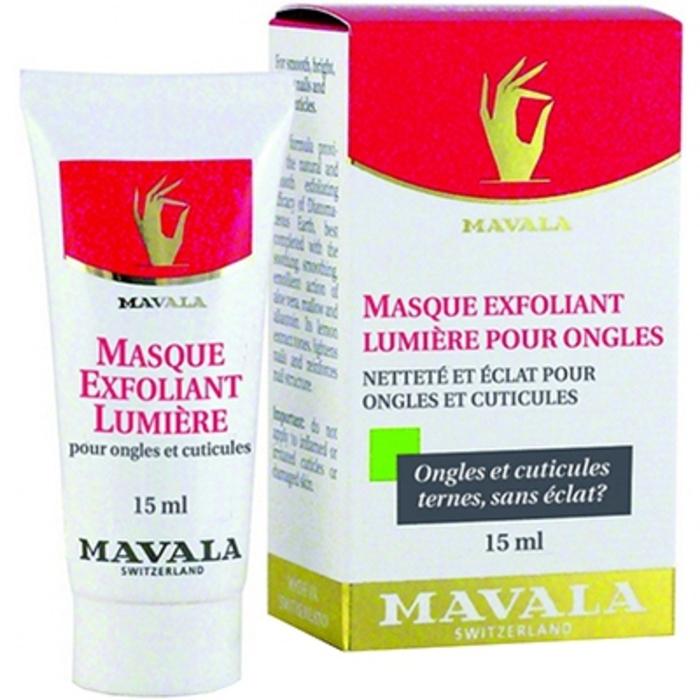 Masque exfoliant lumière pour ongles 15ml Mavala-147512