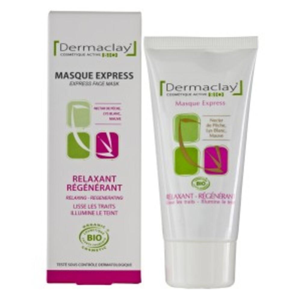 Masque express relaxant régénérant - 50.0 ml - les gommages et masques - dermaclay Relaxe et Régénére-6065